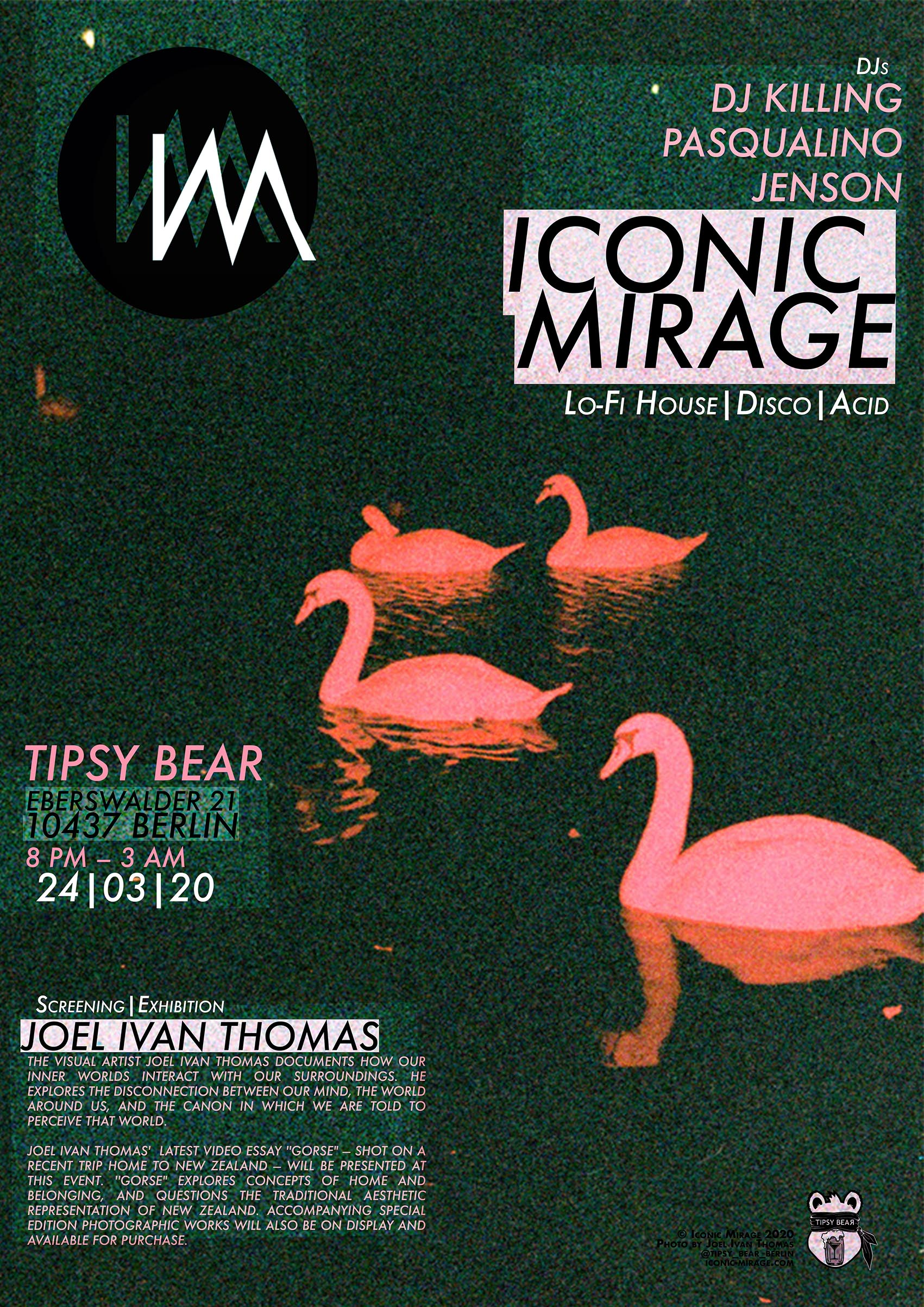 Iconic Mirage Tipsy Bear 24.03.2020-poster